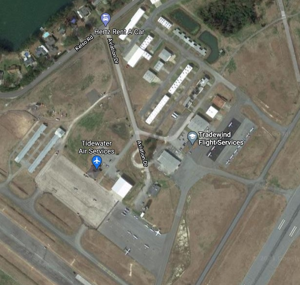 EWN General Aviation map